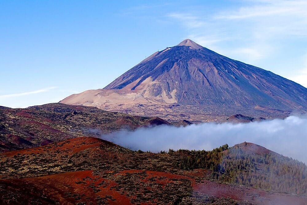 Reasons to buy a villa in Tenerife. Volcano Teide
