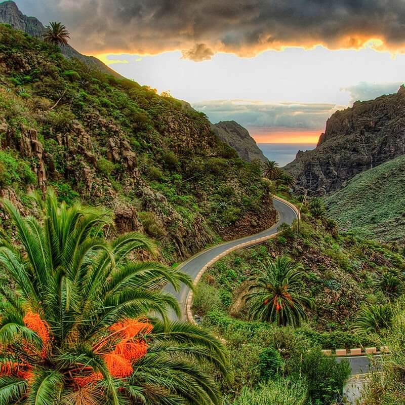Reasons to buy a villa in Tenerife. Mask gorge