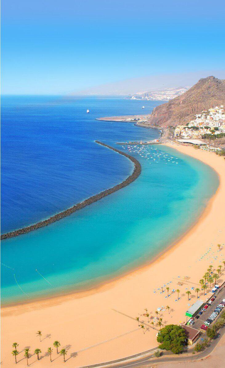 Reasons to buy a villa in Tenerife. Tenerife beaches